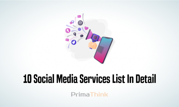 Social Media Services List In Detail