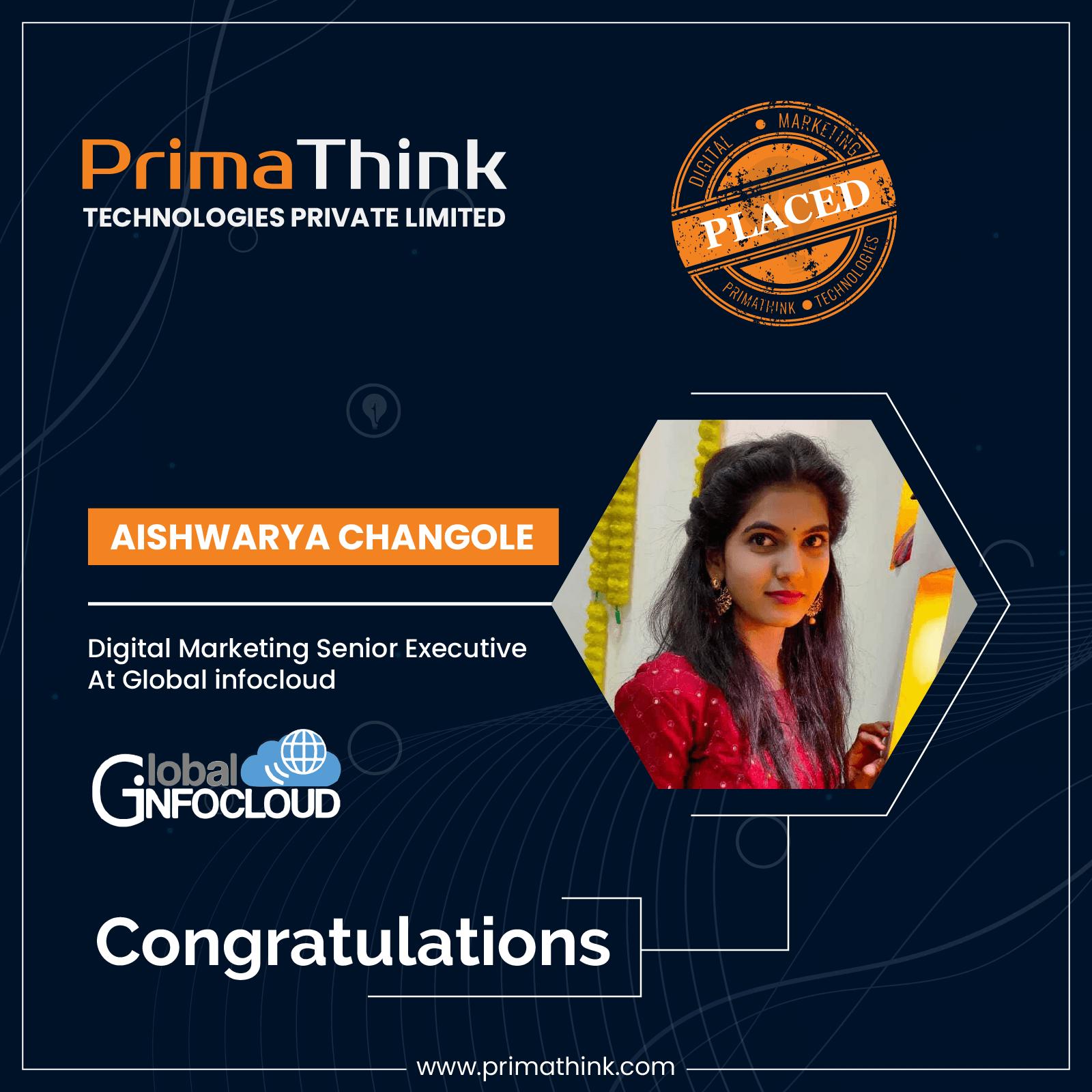 primathink placement Aishwarya Changole