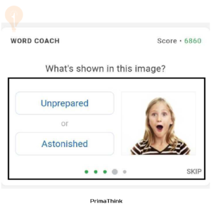 Google Coach fun quiz primathink