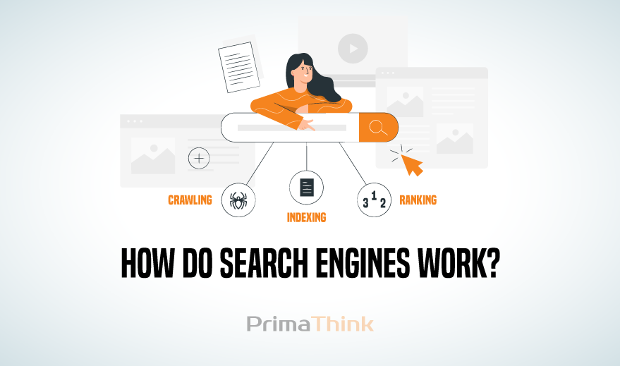 How do Search Engines Work?   Step By Step Guide   PrimaThink