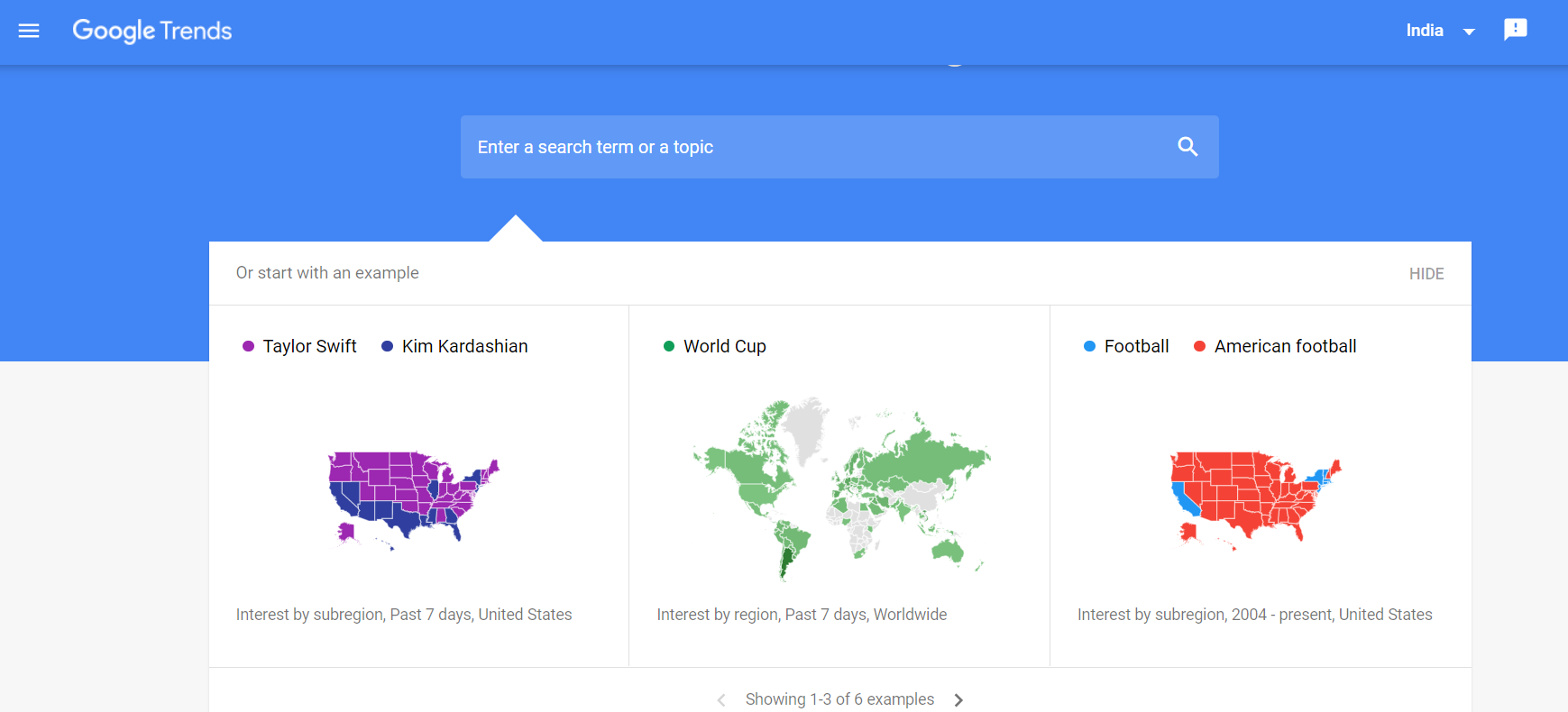 Google Trend For SEO PrimaThink